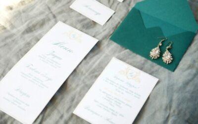 Tout un préparatif pour un menu de mariage original